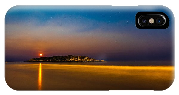 Hazy Moonrise IPhone Case