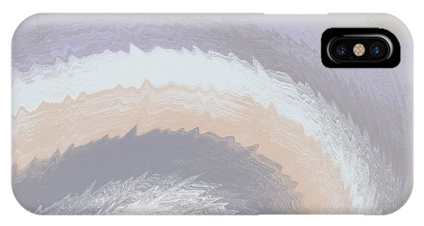 Contemporary iPhone Case - Hazy Morning- Abstract Art By Linda Woods by Linda Woods