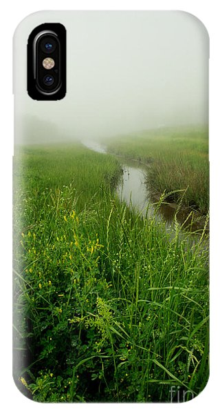 IPhone Case featuring the photograph Hazy Morning by Sandy Adams