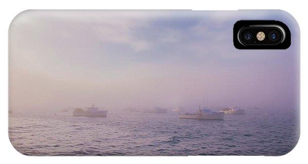 Hazy Sunset In Bar Harbor Maine IPhone Case