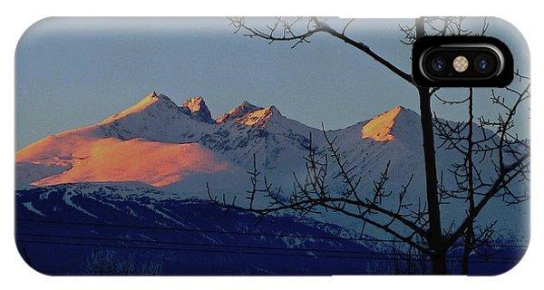 Hbm Winter Sunset IPhone Case
