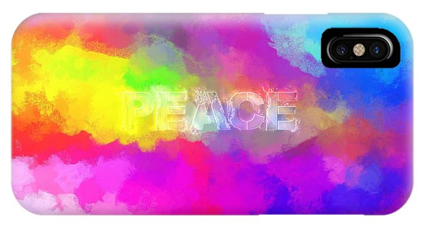 He Gives A Powerful Peace IPhone Case
