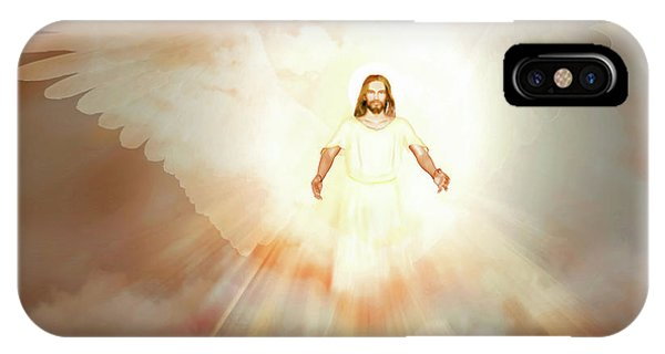 IPhone Case featuring the painting  He Is Risen by Valerie Anne Kelly