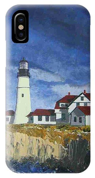 Head Lighthouse  IPhone Case