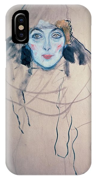 Head Of A Woman IPhone Case