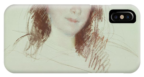 Adele iPhone Case - Head Of Adele by Mary Stevenson Cassatt