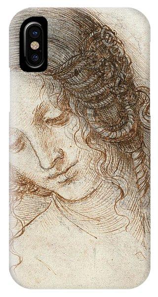 Head Of Leda IPhone Case