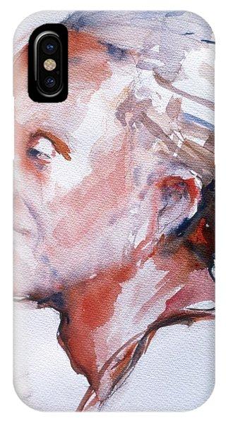 Head Study 5 IPhone Case