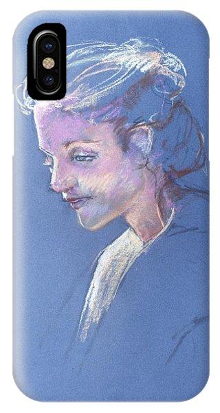 Head Study 6 IPhone Case
