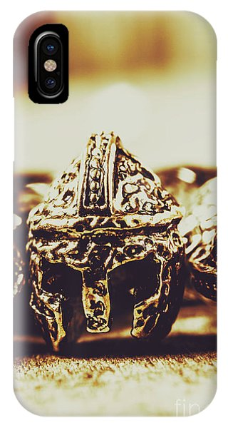 Ancient Rome iPhone Case - Headdress Of Medieval Antiquity by Jorgo Photography - Wall Art Gallery