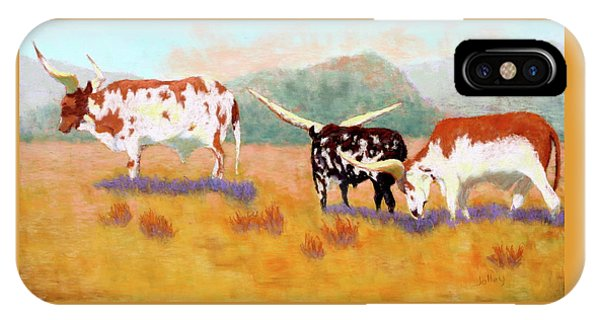 Headed For The Barn IPhone Case