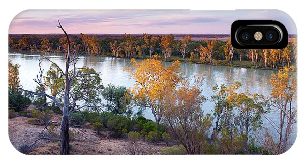 Heading Cliffs Murray River South Australia IPhone Case