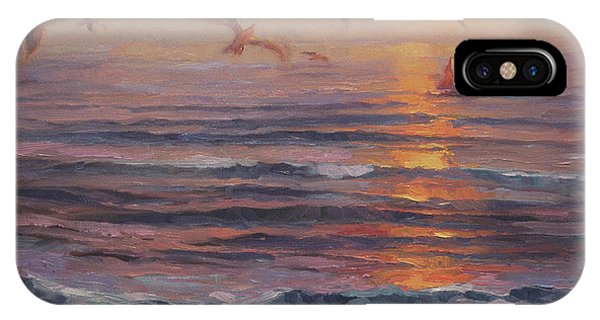 Seagull iPhone Case - Heading Home by Steve Henderson