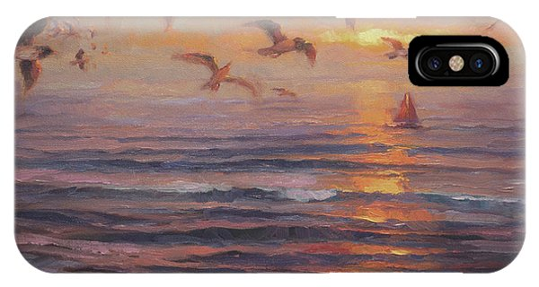 Coast iPhone Case - Heading Home by Steve Henderson