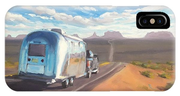 Heading South Towards Monument Valley IPhone Case