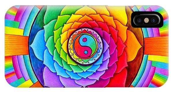 Healing Lotus IPhone Case