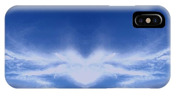 Religious iPhone Case - Heart Cloud by Kimberly  W