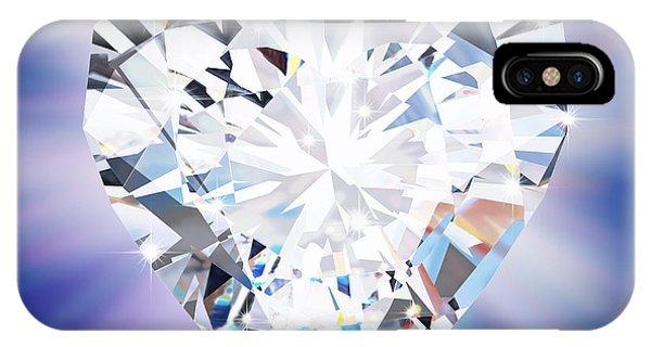 Heart Diamond IPhone Case
