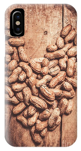 Indoors iPhone Case - Heart Health And Nuts by Jorgo Photography - Wall Art Gallery