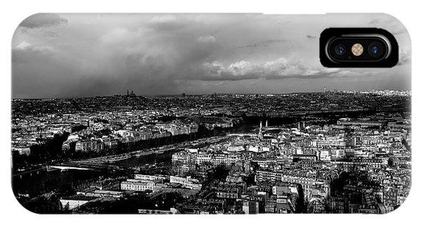 Paris 3 IPhone Case