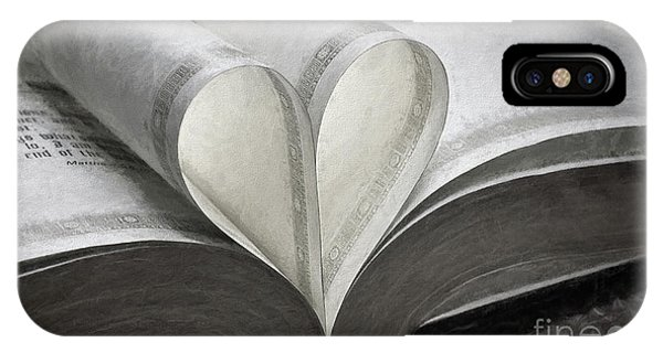 Heart Of The Book  IPhone Case