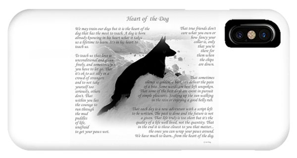 Heart Of The Dog Version Two IPhone Case