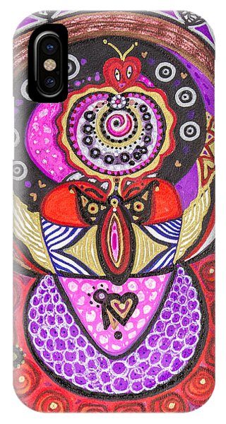 Heart Of The Feminine IPhone Case