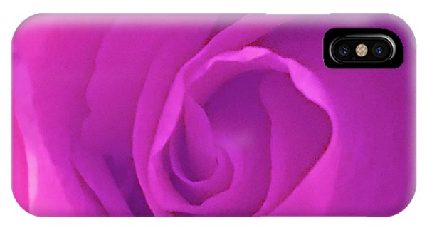 IPhone Case featuring the photograph Heart Of The Rose by Marian Palucci-Lonzetta