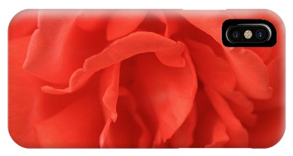 Heart Of The Rose - Red IPhone Case