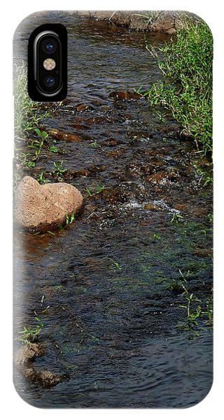 Heart Of The Stream IPhone Case
