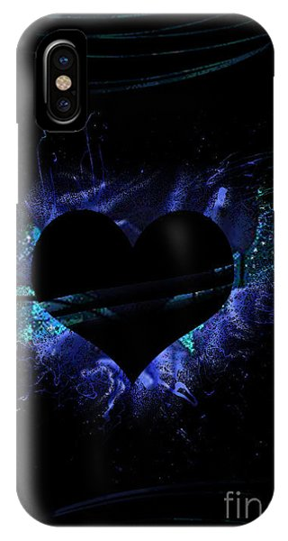 Heart On Fire IPhone Case