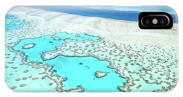 Barrier Reef iPhone Case - Heart Reef by Az Jackson