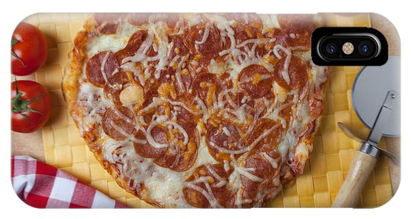 Heart Shaped Pizza IPhone Case