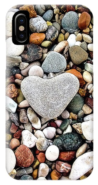Heart-shaped Stone IPhone Case