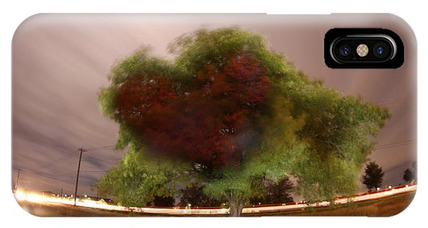 Heart Tree Scene IPhone Case