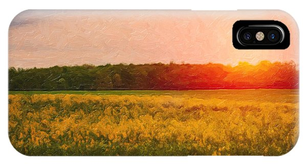 Rural Scenes iPhone Case - Heartland Glow by Tom Mc Nemar