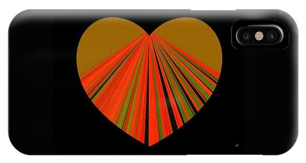 Heartline 5 IPhone Case
