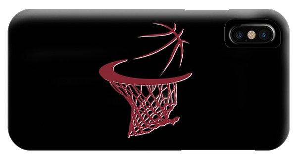 Heat Basketball Hoop IPhone Case