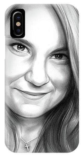 Heather iPhone Case - Heather Heyer by Greg Joens