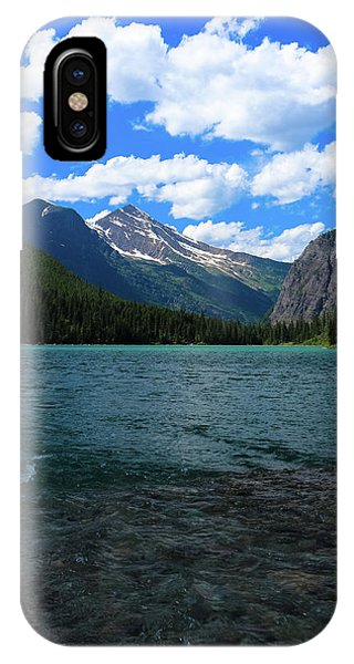 Heavan's Peak From Avalanche Lake IPhone Case
