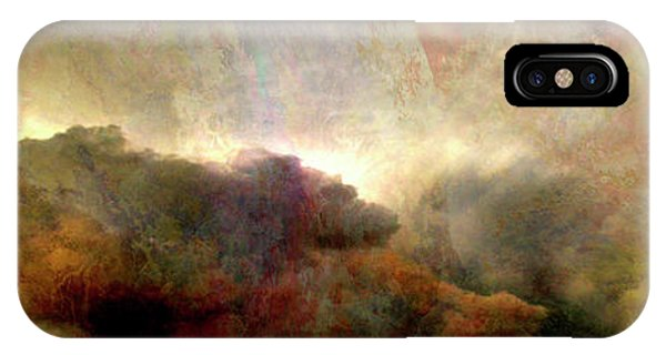 IPhone Case featuring the painting Heaven And Earth - Abstract Art by Jaison Cianelli