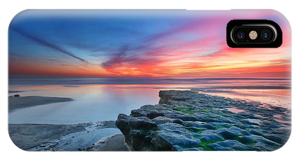 Sunset iPhone Case - Heaven And Earth by Larry Marshall