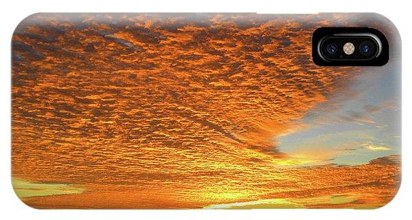 Heaven Sent Golden Sunrise IPhone Case