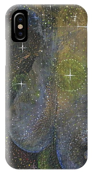 IPhone Case featuring the painting Heavenly Body Aka The Milky Way by Kym Nicolas