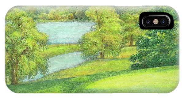 Heavenly Golf Day Landscape IPhone Case
