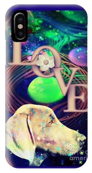 IPhone Case featuring the digital art Heavenly Love by Kathy Tarochione