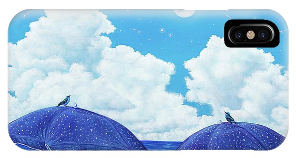 Heavenly Shower IPhone Case