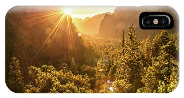 Heavenly Valley IPhone Case