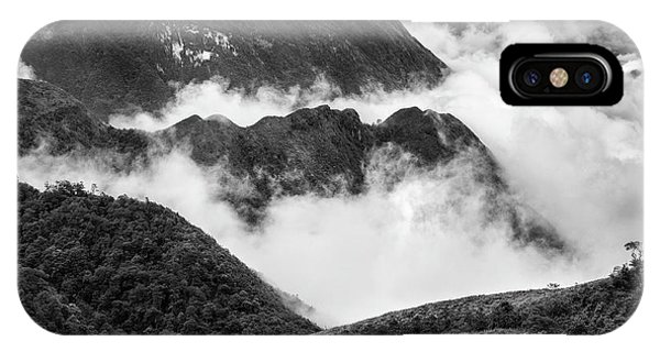 IPhone Case featuring the photograph Heavens Gate Mountain Landscape, Sapa Vietnam by Michalakis Ppalis