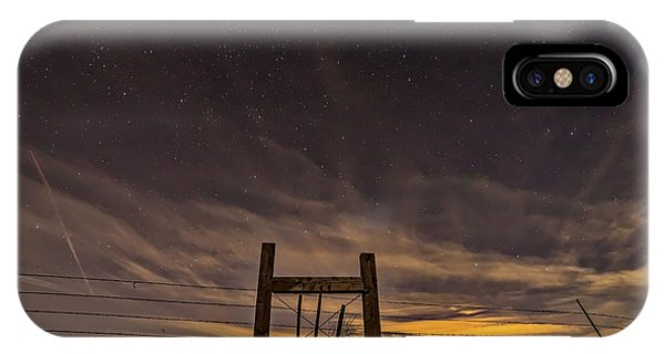 Super Moon iPhone Case - Heaven's Gate by Peter Tellone